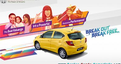 Spesifikasi All New Honda Brio Satya 2018