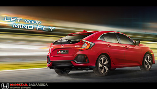 Spesifikasi Honda Civic Hatchback Turbo 2018