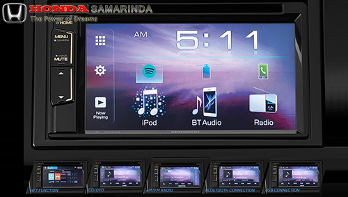 "6.1"" Touchscreen Display Audio with Bluetooth & HFT Function"